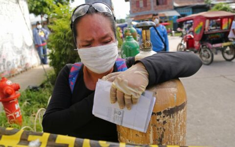 Peru coronavirus: Locals cry out for oxygen as disease takes its toll