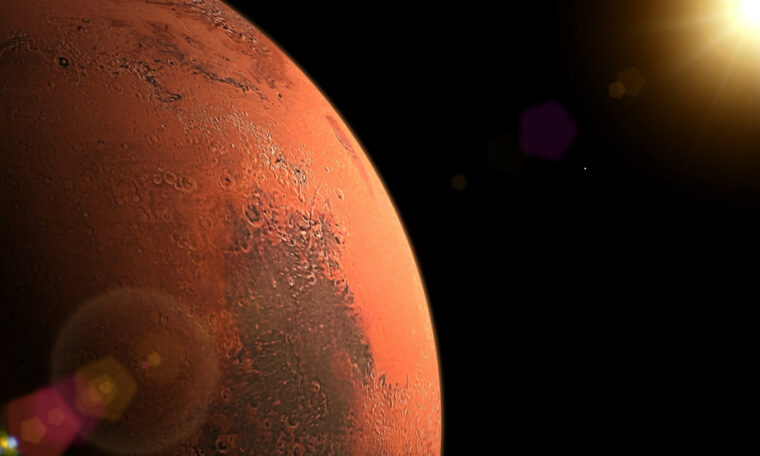 Study suggests Mars may have been a ringed planet in the ancient past