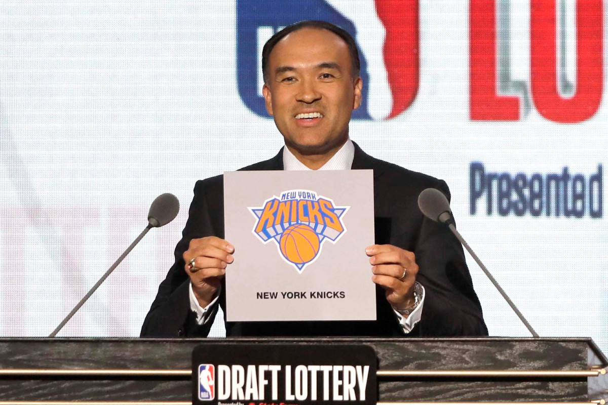 The Knicks now know exactly where they are for the 2020 NBA Draft Lottery