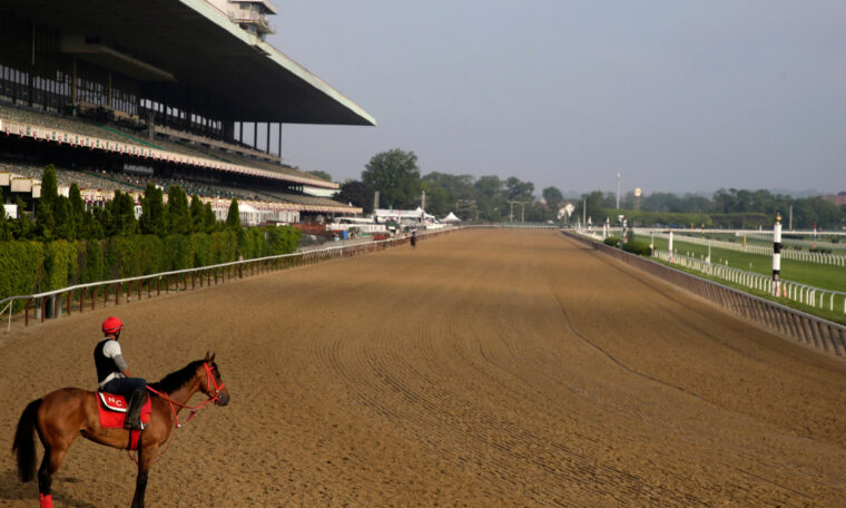 """The reopening of Belmont Park provides a """"ray of hope"""" amid the coronavirus"""