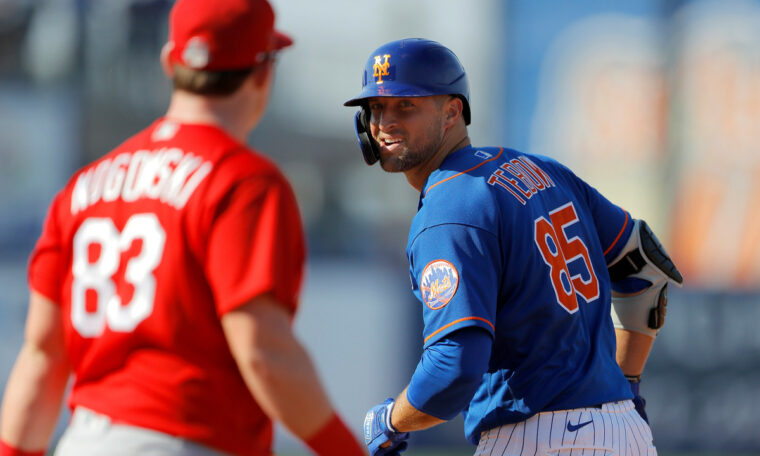 Tim Tebow's baseball career may be alive after the Mets