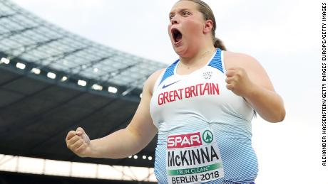 Sophie McKinna rejected funding in order to keep her routine.