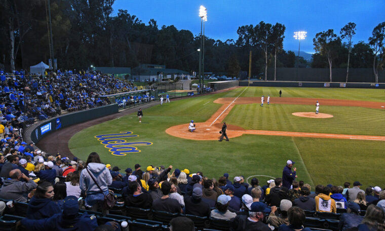"UCLA furious at LAPD using Jackie Robinson Stadium as a ""field jail"""