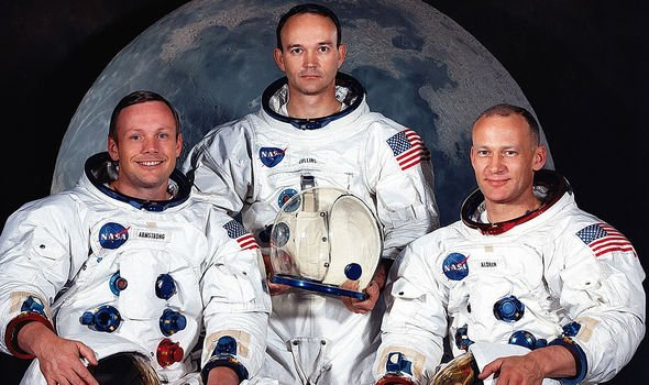 The Apollo 11 crew in 1969