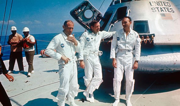 The crew landed back on Earth 51 years ago today