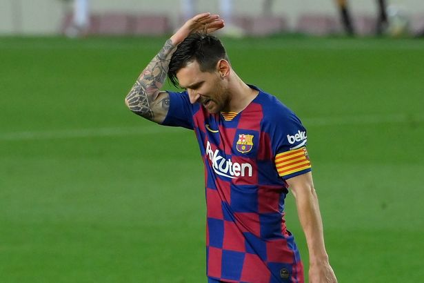 Messi is disillusioned with the direction Barca are heading in