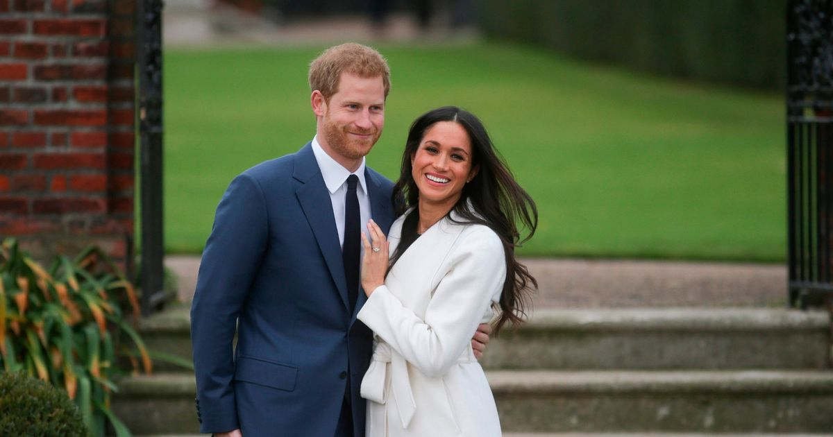 Harry and Meghan got secretly engaged 'two months before they told the world'