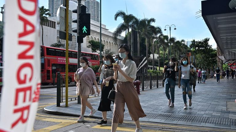 Hong Kong has had a spike in coronavirus cases in recent weeks