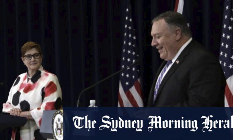 Australia-US vow to counter China at AUSMIN talks