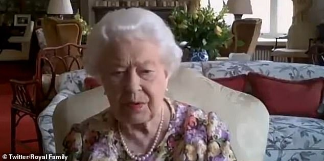 In a sneak preview of a new ITV documentary marking the royal's 70th birthday, Anne asks Her Majesty (pictured): 'Can you see everybody? You should have six people on your screen.'