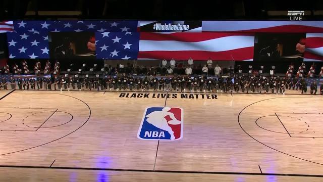 Players unite & take knee
