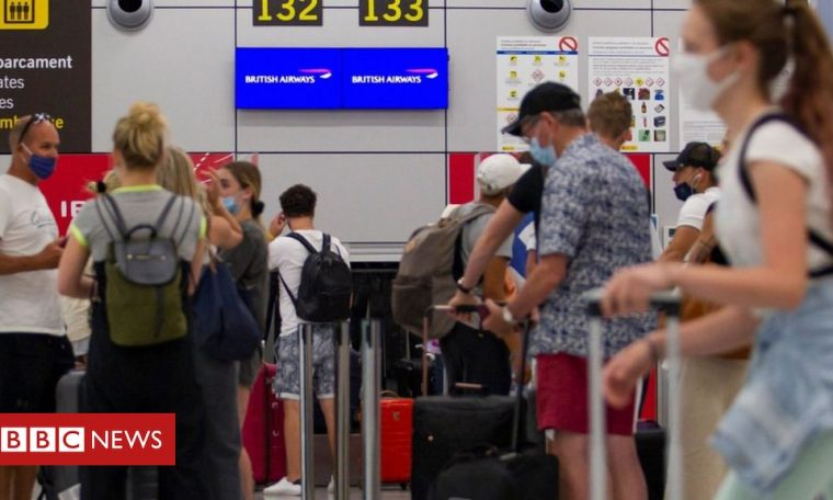 Coronavirus: UK advises against non-essential travel to Spanish isles