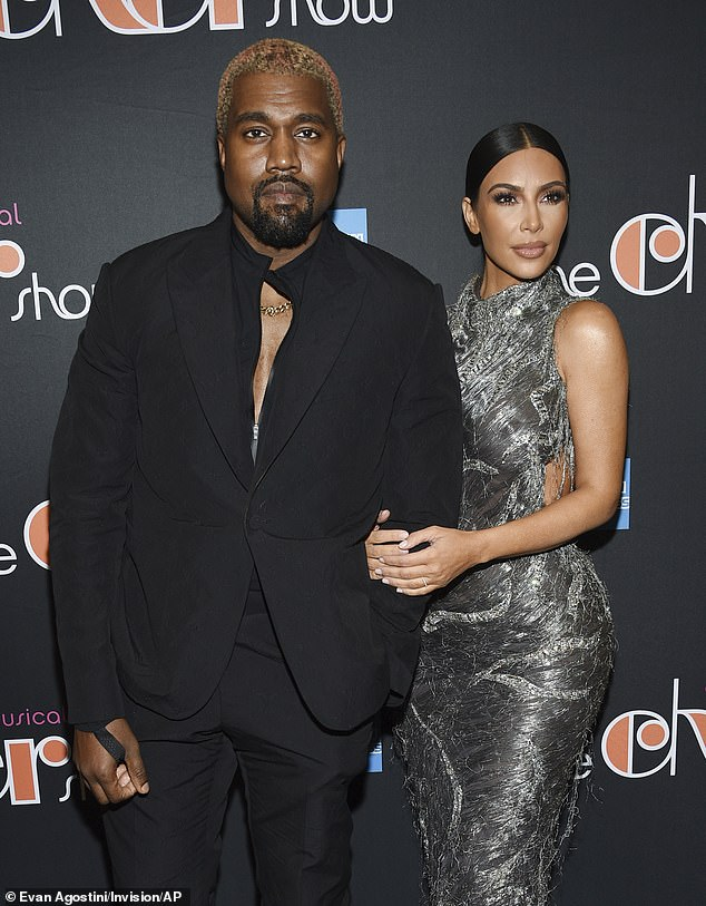 Regrets: Kanye West is feeling remorseful after revealing he considered aborting daughter North West during his wild presidential rally last week (pictured 2018)