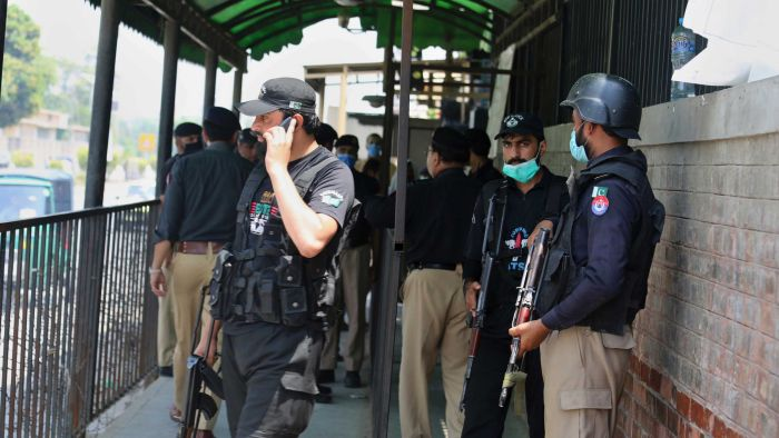 Pakistani man accused of insulting Islam killed in court