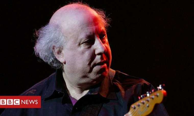Peter Green: Fleetwood Mac co-founder dies aged 73