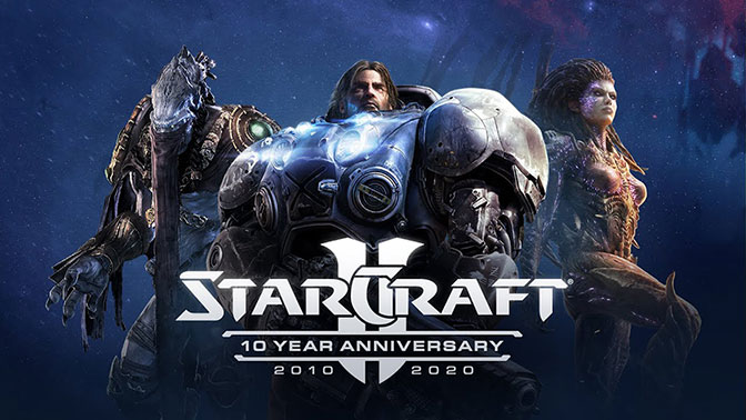 Starcraft II Is Celebrating Its 10th Birthday With The Biggest Update Ever