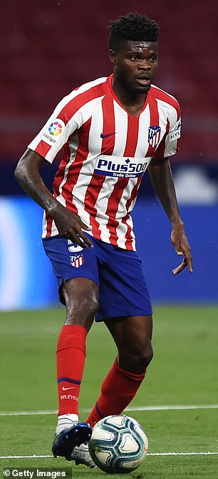 Arteta wants to bring in Atletico Madrid midfielder Thomas Partey