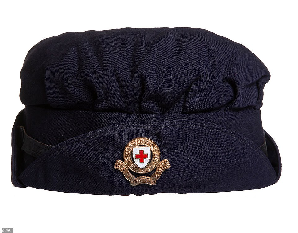 First World War female ambulance driver's storm cap, which features in the 150 Voices exhibition