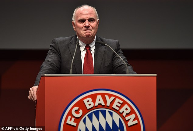 Former Bayern Munich president Uli Hoeness has criticised Dortmund's transfer policy