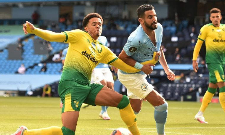 Liverpool plotting £10million transfer swoop for Norwich left-back Jamal Lewis
