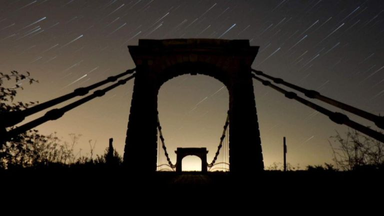 The Perseid meteor show occurs every August in the UK.