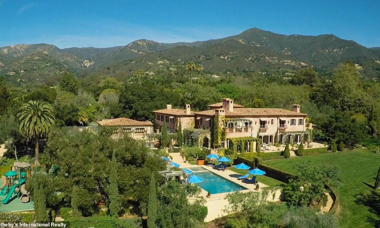 Prince Harry and Meghan Markle's $14.7million home in Santa Barbara, California