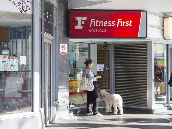 File image of Kings Cross Centre, displaying a Fitness First sign.