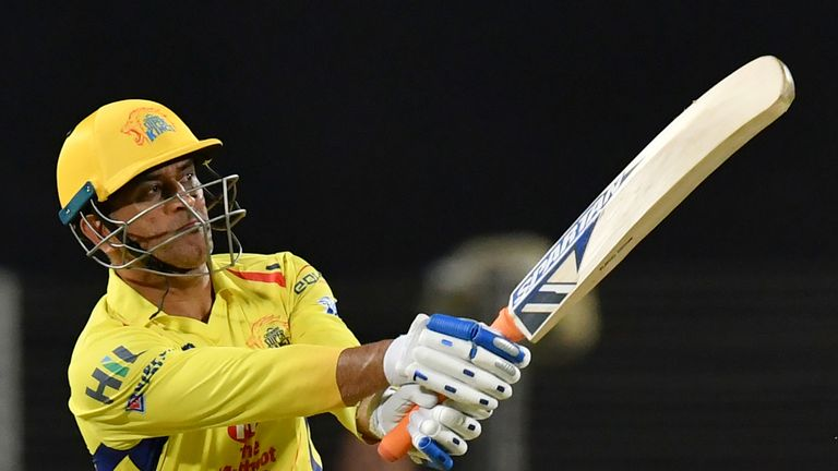 MS Dhoni has captained Chennai Super Kings to the IPL title three times (Credit: AFP)