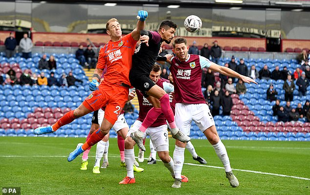 The 33-year-old Englishman is a free agent after leaving Turf Moor at the end of last season