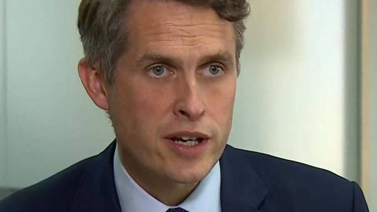 Gavin Williamson 'sorry' for grading issues prompting a government U-turn