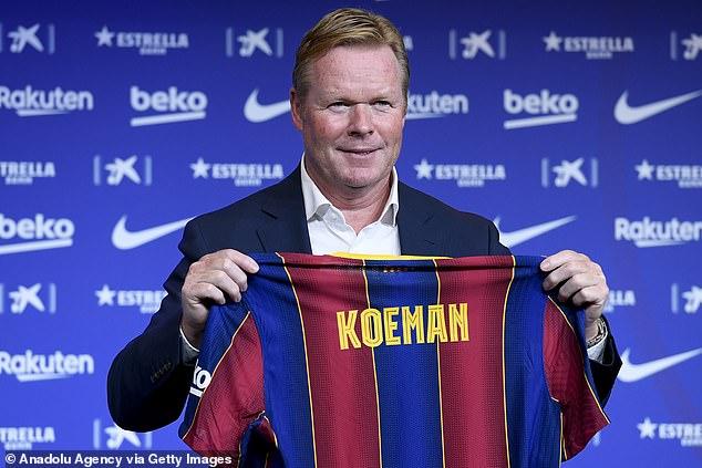 Messi returned to Barca to tell Koeman he has no faith in the club's president Josep Bartomeu