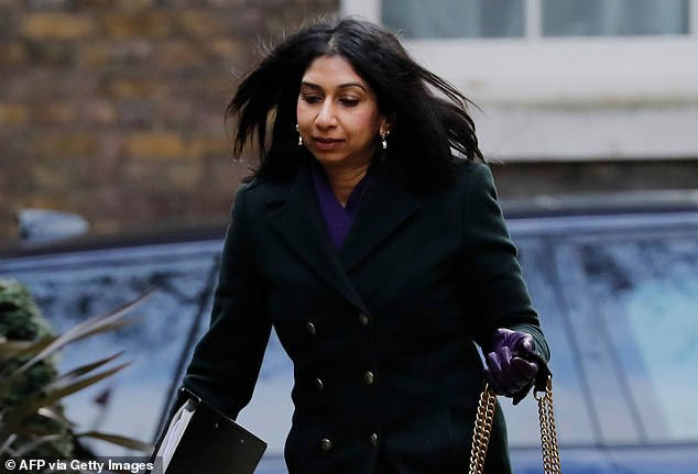 Attorney General Suella Braverman (above) has referred the sentences to the Court of Appeal