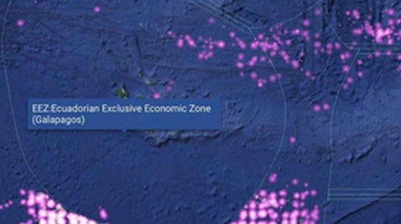 Charles Darwin's famous Galapagos Islands threatened by huge Chinese fishing fleet - World News