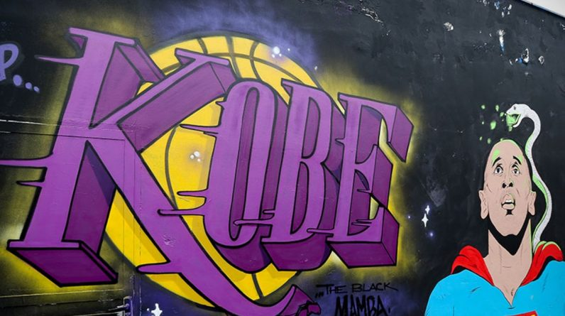 Kobe Bryant's 42nd Birthday Celebrated by Murals, Nike, Vanessa