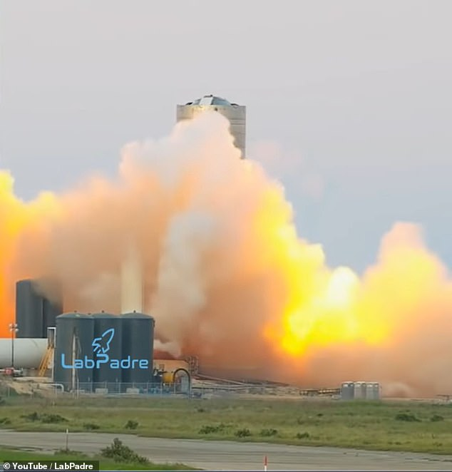 The test was conducted August 23 at SpaceX's Boca Chica facility in Texas, which could lead to a SN6's first flight this weekend