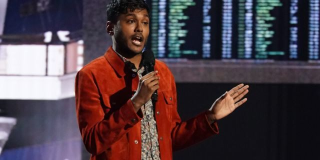 Usama Siddiquee performs on 'America's Got Talent.' (Photo by: Chris Haston/NBC/NBCU Photo Bank via Getty Images)