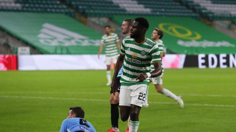 Odsonne Edouard set for crucial Celtic talks as striker's agent makes Champions League admission
