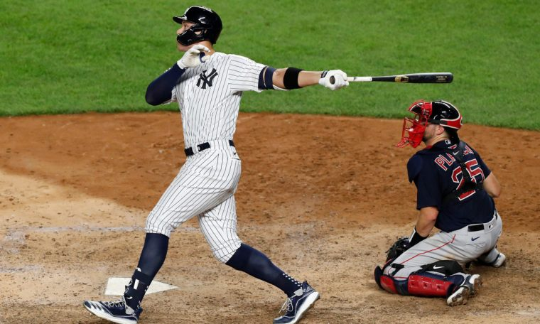 Aaron Judge has two home runs as Yankees rally to sweep Red Sox