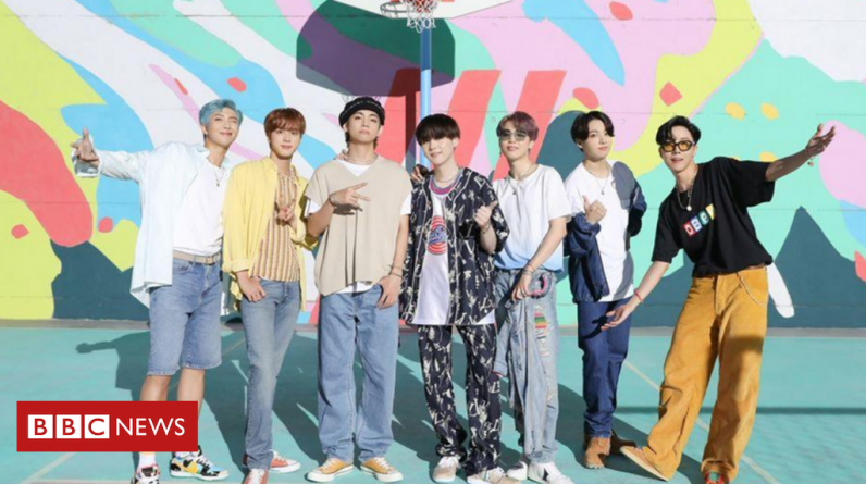 BTS's Dynamite smashes YouTube records and heads for UK number one