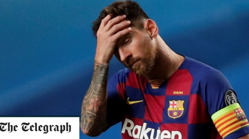 Barcelona hit rock bottom as Bayern Munich put eight past them in Champions League humiliation