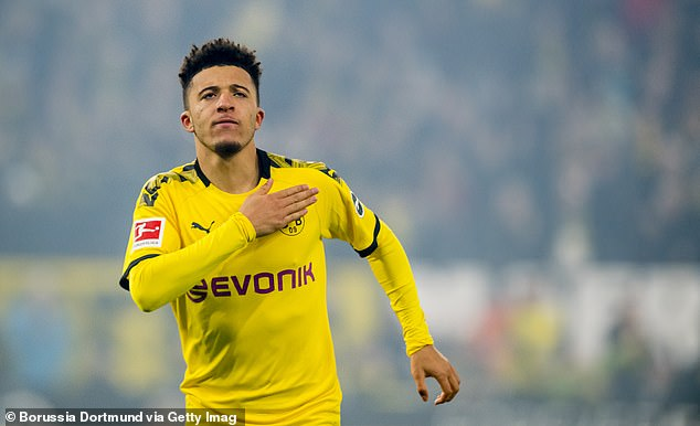 Borussia Dortmund look set to sell England forward Jadon Sancho to Manchester United