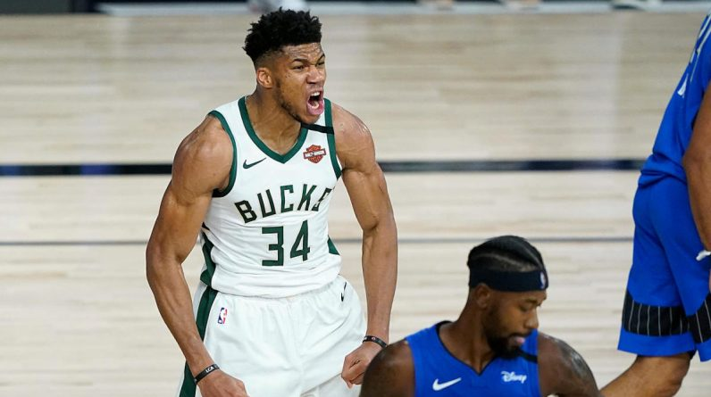 Bucks vs. Magic score, takeaways: Giannis Antetokounmpo fuels Milwaukee to convincing Game 3 win, series lead