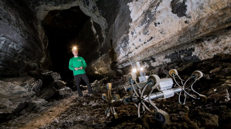 Entire cities could fit inside the moon's monstrous lava tubes