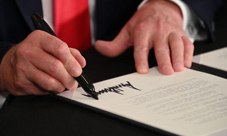 Democrats Slam Trump's Executive Actions, Critiquing Both Substance And Legality : NPR