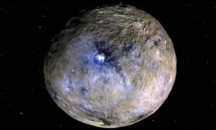 Dwarf Planet Ceres Has a Secret Saltwater Ocean