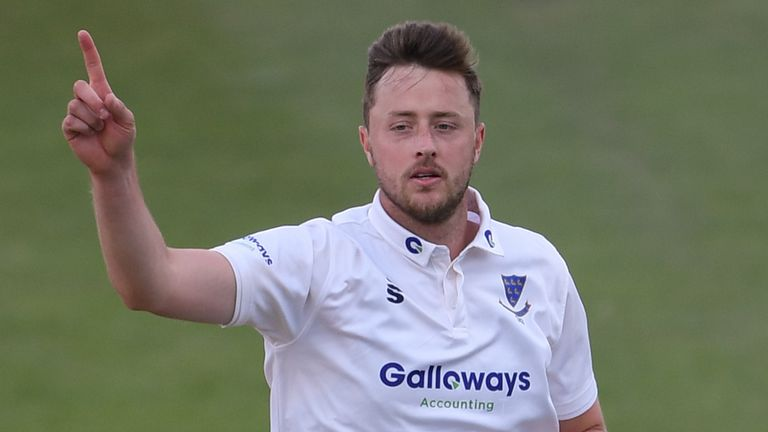 Sussex seamer Ollie Robinson is targeting his first England Test cap after taking 244 first-class wickets at 21.86 apiece