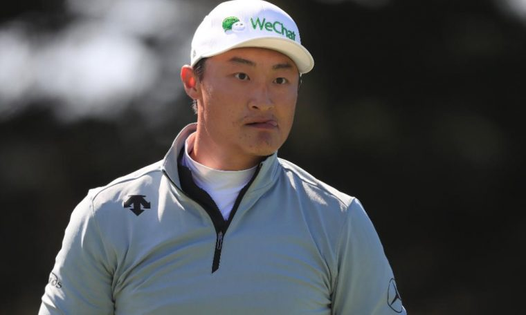 Haotong Li leads PGA Championship with Brooks Koepka within two