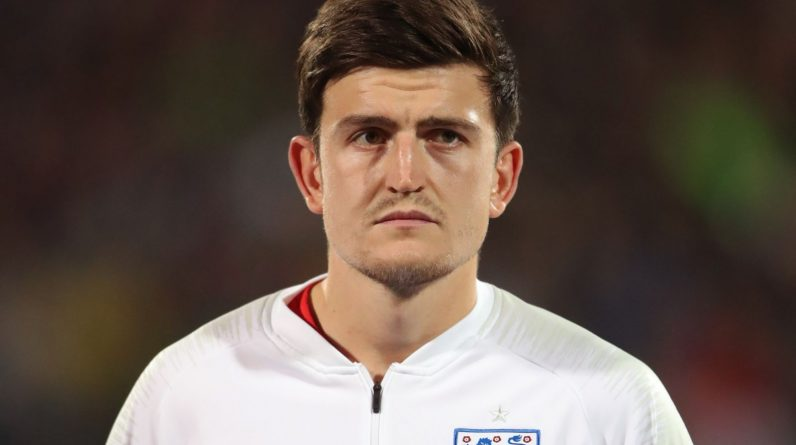 England's Harry Maguire during the UEFA Euro 2020 Qualifying match at the Vasil Levski National Stadium, Sofia, Bulgaria.
