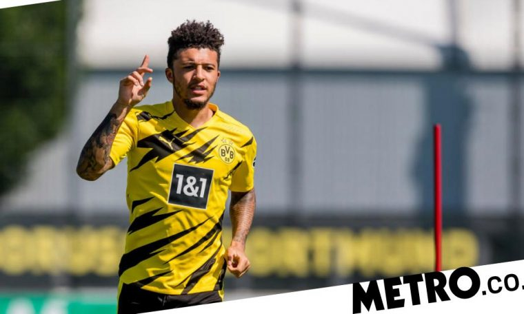 Jadon Sancho's move to Man Utd in jeopardy after Dortmund statement