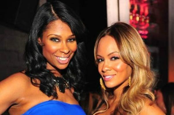 Jennifer Williams and Evelyn Lozada